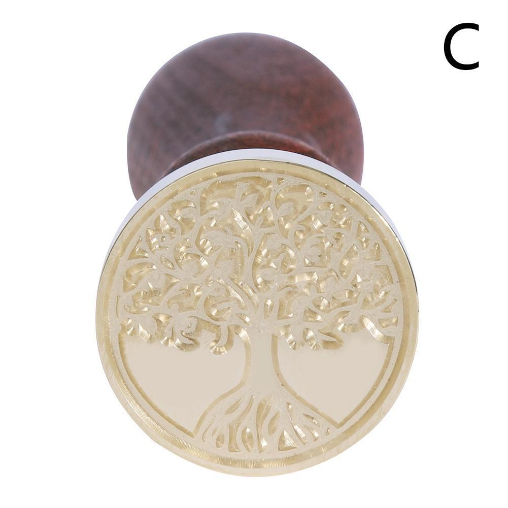 Classic Initial Letter Wax Seal Stamp Sealing Wax Envelope Wedding Invitation