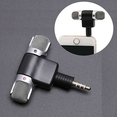 Portable Mini Microphone Digital Stereo for Recorder PC Mobile Phone Laptop R 2