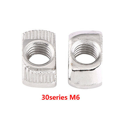 50/100 Hammer Head T Nut M4 M5 M6 20 30 40 Series European Profile Extrusion inm 3