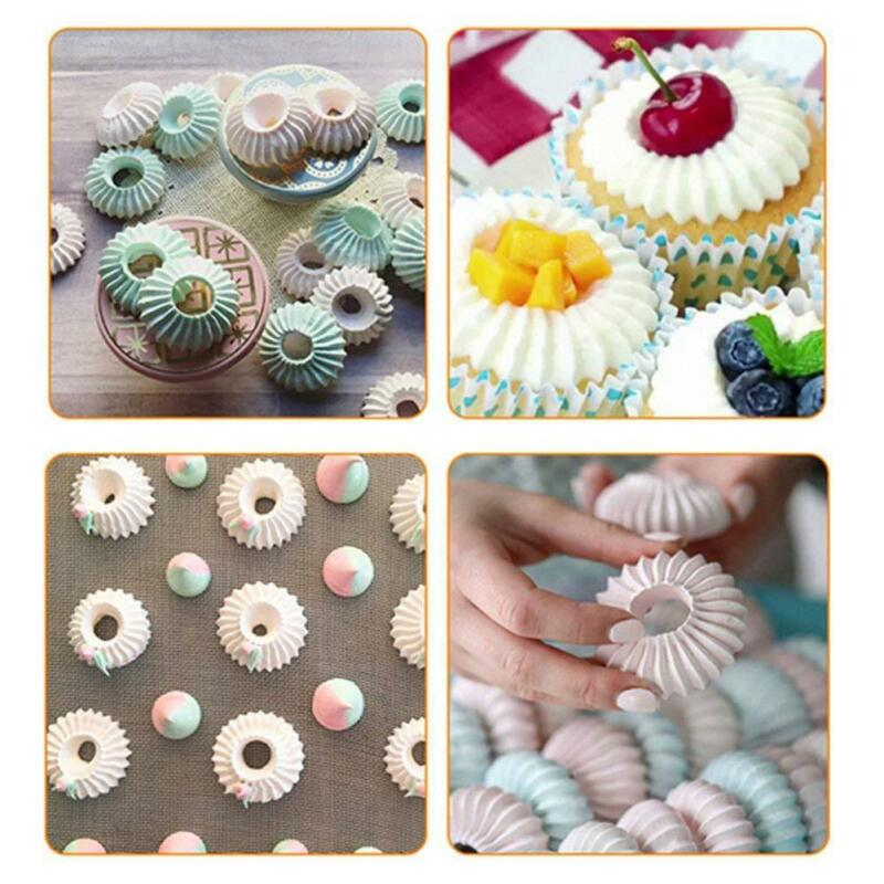 Diy Russian Pastry Flower Icing Piping Nozzles Cake