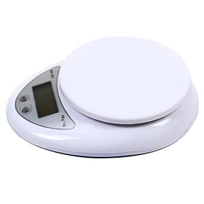 5kg 5000g/1g Digital Electronic Kitchen Food Diet Postal Scale Weight Balance Ar 4