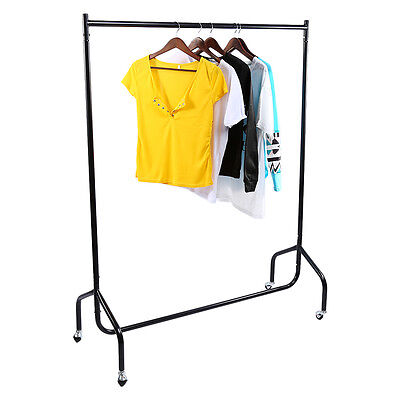 Super Heavy Duty Garment Clothes Rail Metal Garment Hanging Display Stand Rack 8