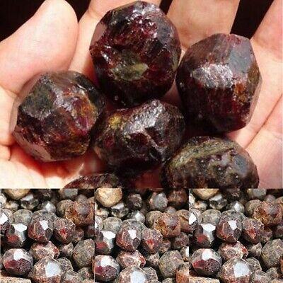 100g Natural Red Garnet Crystal Gemstone Rough Stone Mineral Specimen Healing 3