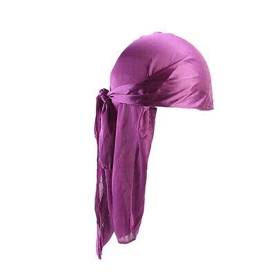 Unisex Headwrap Men Women Bandana Turban Cap Durag do doo du rag Long Tail Hat # 4