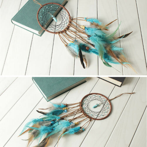 Large Feathers Dream Catcher Dreamcatcher Car Wall Hanging Decoration Ornament 8