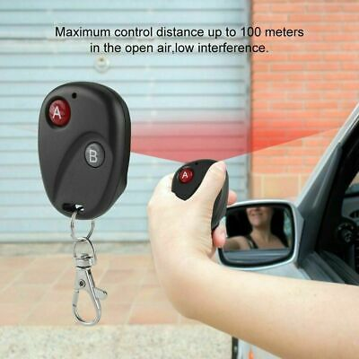 1/2/3/4Button 433Mhz Smart Remote Control Switch RF Transmitter For Garage Door 11