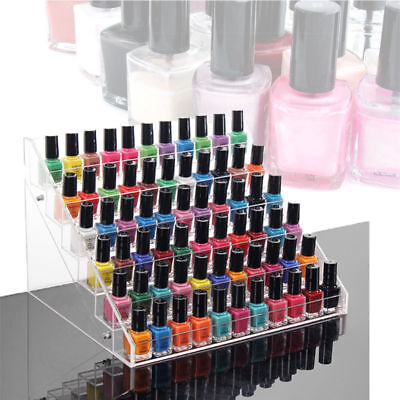6 Layers Acrylic Nail Polish Rack Stand Holder Cosmetics Display  Organizer 3