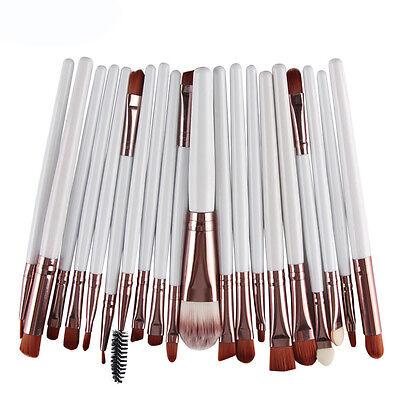 20PCS Cosmetic Make up Brushes Set Foundation Blusher Eyeshadow Lip Brush Tool 7