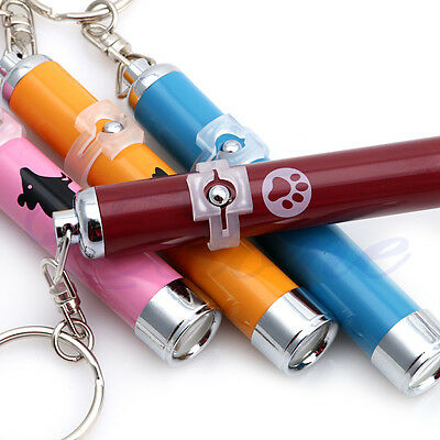 LED Funny Cat Dog Laser Pointer Light Pen With Bright Mouse Animation Pet Toys