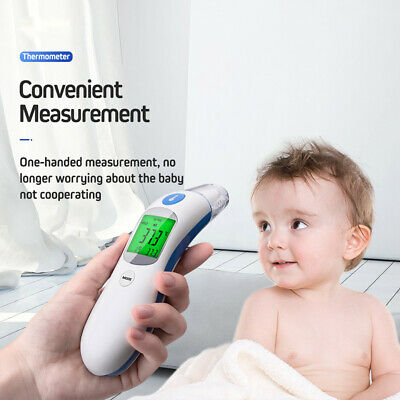 Digital Infrared Temporal Forehead Thermometer Gun Adult Baby Body Temperature 6