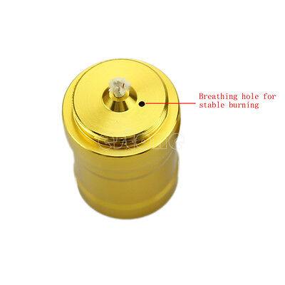Fashion Mini 10ml Alcohol Burner Lamp Aluminum Case Lab Equipment Heating New
