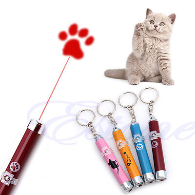 LED Funny Cat Dog Laser Pointer Light Pen With Bright Mouse Animation Pet Toys 2