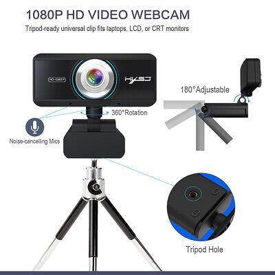 Full HD 1080P Web Cam Desktop PC Video Calling Webcam Camera with Microphone Mic 5