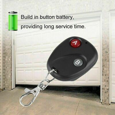 1/2/3/4Button 433Mhz Smart Remote Control Switch RF Transmitter For Garage Door 9