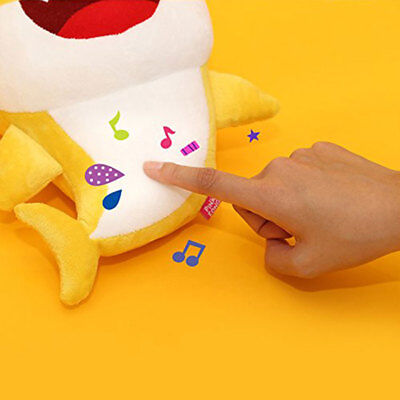 2019 Baby Shark Plush Singing Plush Toys Music Doll English Song Toy Gift AU 7