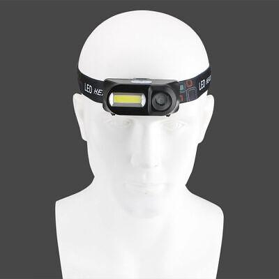 6 Modes USB Rechargeable COB LED Headlamp Headlight Head Light Torch Flashlight 8