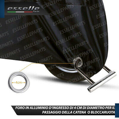 TG.L TELO COPRIMOTO IMPERMEABILE FELPATO MOTO HONDA SH 300 I SPORT COPRI SCOOTER COVER