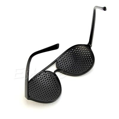 Pinhole Glasses Hole EYE Glasses Anti-Fatigue Vision Care Eyesight Improver 10