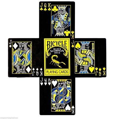 Svengali Black Scorpion Bicycle Deck Of Playing Cards Gaff Magic Tricks Force 4