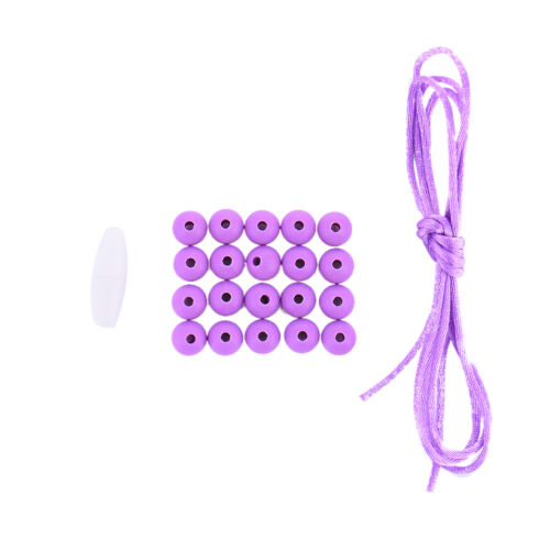 20Pcs Silicone Teething Beads Baby Jewelry DIY Chewable Necklace Teether
