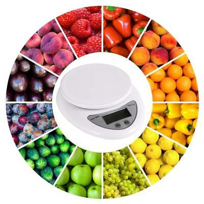 5kg 5000g/1g Digital Electronic Kitchen Food Diet Postal Scale Weight Balance Ar 2
