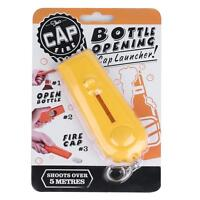 Creative Bottle Beer Opener Tool Bar Game Toy Flying Cap Launcher Key Ring Chain 9
