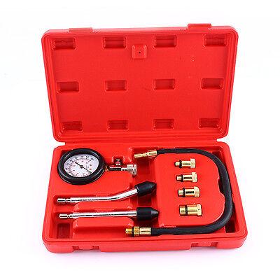 2X Car Diesel Engine Compression Cylinder Pressure Tester Gauge Testing Tools AF