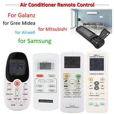 Replace For GREE YX1F Midea R06/BGCE Air Conditioner AC Remote Control Universal 2