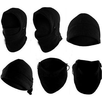 Thermal Fleece Balaclava Hood Cap Winter Ski Mask Cover Hat Scarf Neck Warmer AU