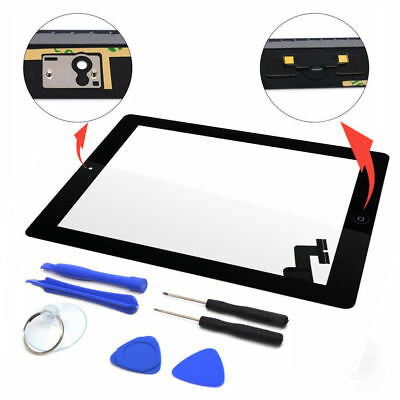 OEM For iPad 2 3 4 Air Mini 1 2 3 Touch Screen Digitizer Replacement w/ Adhesive 11