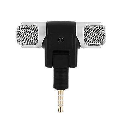 Mini stereo Microfono Registratore audio con jack da 3,5 mm per Smart Phone , 7