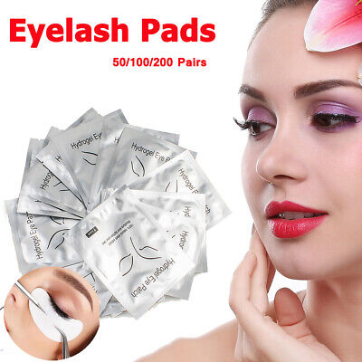 400 Pairs Under Eye Curve Eyelash Pads Gel Patch Lint Free Lash Extension Beauty 7