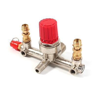 Reglerhalterung Druckregler Ventil für Luftkompressor Schalter Druck Einstellbar