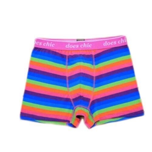 35a7d44442 Gay LGBT Pride Underwear Men's Rainbow Striped Boxer Brief Shorts Size M L  XL 2 2 of 7 ...