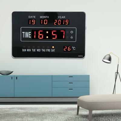 Calendrier électronique multifonctionnel avec horloge numérique et affichage 4