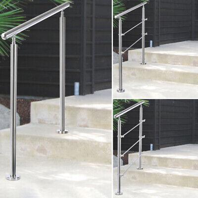 Handrail 100 120 150 Cm Kit Outdoor, Outdoor Handrails For Steps Uk