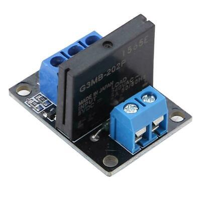 DC 5V/12V 1 Channel Solid State Relay Module Board High & Low Level Trigger 2A 4