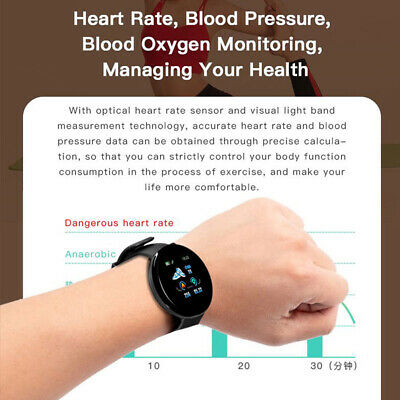 Smart Watch Fitness Sport Activity Tracker Heart Rate Monitor For Android iOS 4