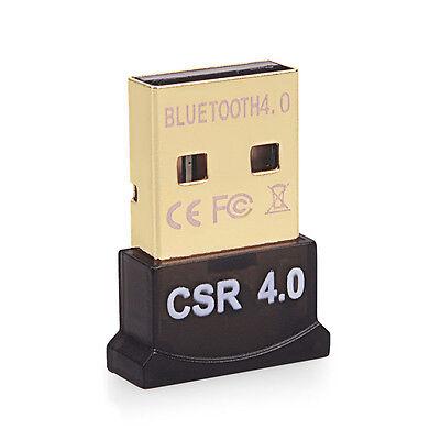 Mini Wireless USB Bluetooth 4.0 Adapter Dongle For PC Laptop Win XP Vista7/ 8/10 4