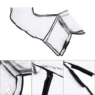 1x Baby Buggy Rain Cover Universal Pushchair Stroller Pram Buggy Clear Raincover 2