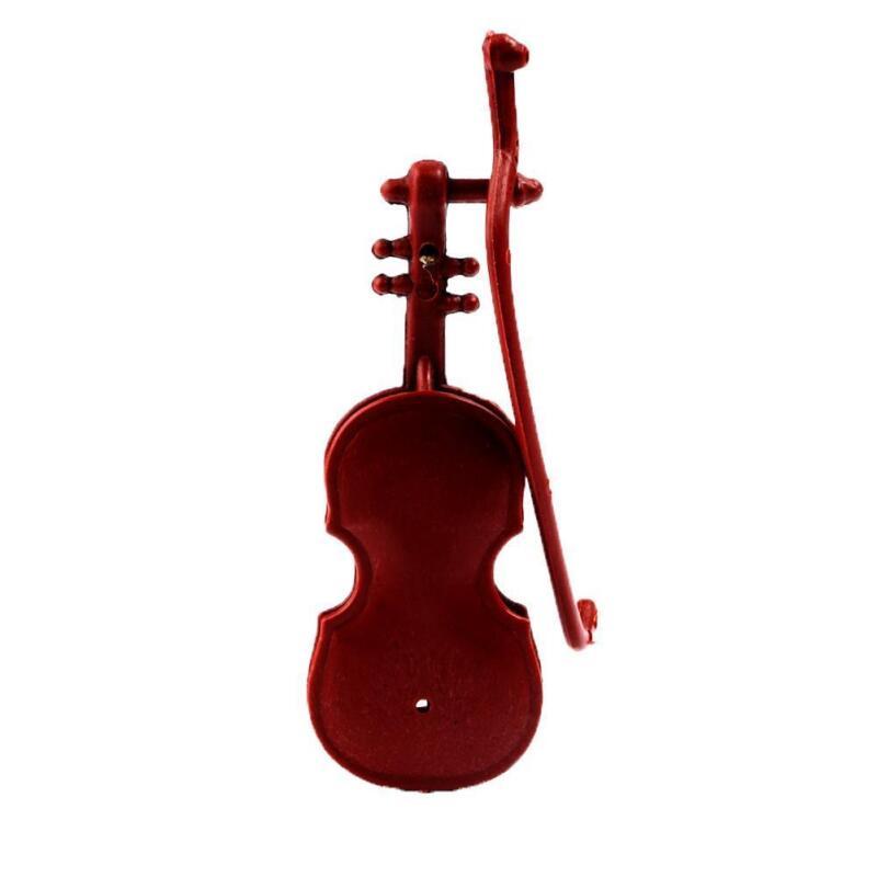 1:12 Doll House Miniature Music Instrument Violin Model Room Mini-Instrument New 4