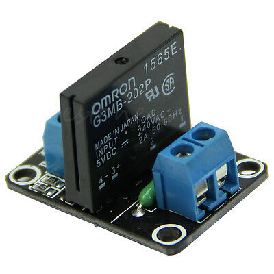 5V 1 Channel Solid State Relay SSR  Low Level Trigger for Arduino Raspberry Pi 4