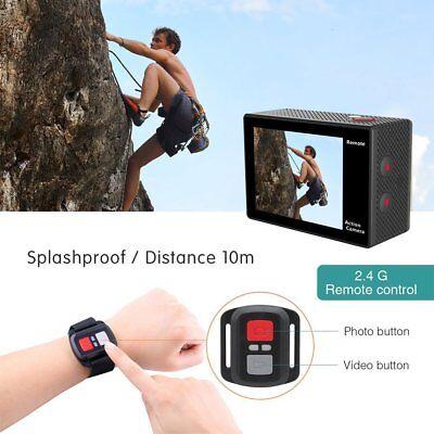Eken® H9R Sport Action Pro Cam Ultra Hd 4K Wifi Videocamera Subacquea Originale 6
