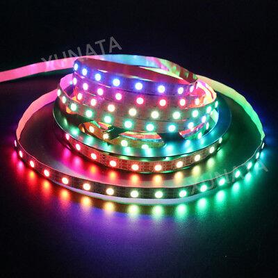 1m 5m 5V WS2812B 5050 RGB 30/60LEDs/M LED Strip ws2812 IC Individual Addressable 10
