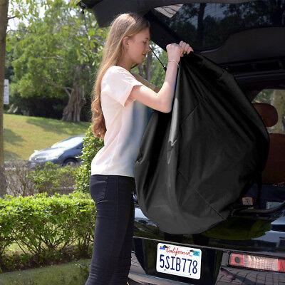 Portable Baby Children Car Safety Seat Travel Bag Dust Cover Stroller Bag Black 3