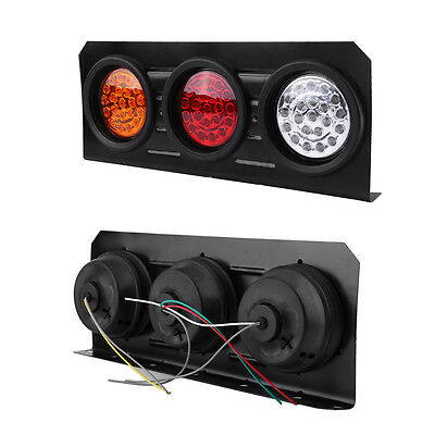2X Led Tail Lights Truck UTE Trailer Stop Indicator 12V Pair Waterproof AU 7