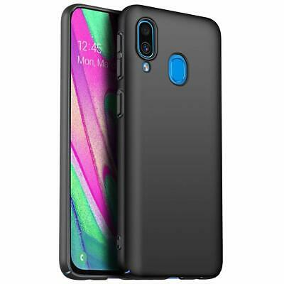 Coque Samsung A70 A50 A40 A20e A10 Housse AntiChoc Case Noir+ Film Verre Trempé 6