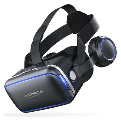 360° VR Shinecon Headset Virtual Reality 3D Glasses Iphone Samsung Sony Reality 3