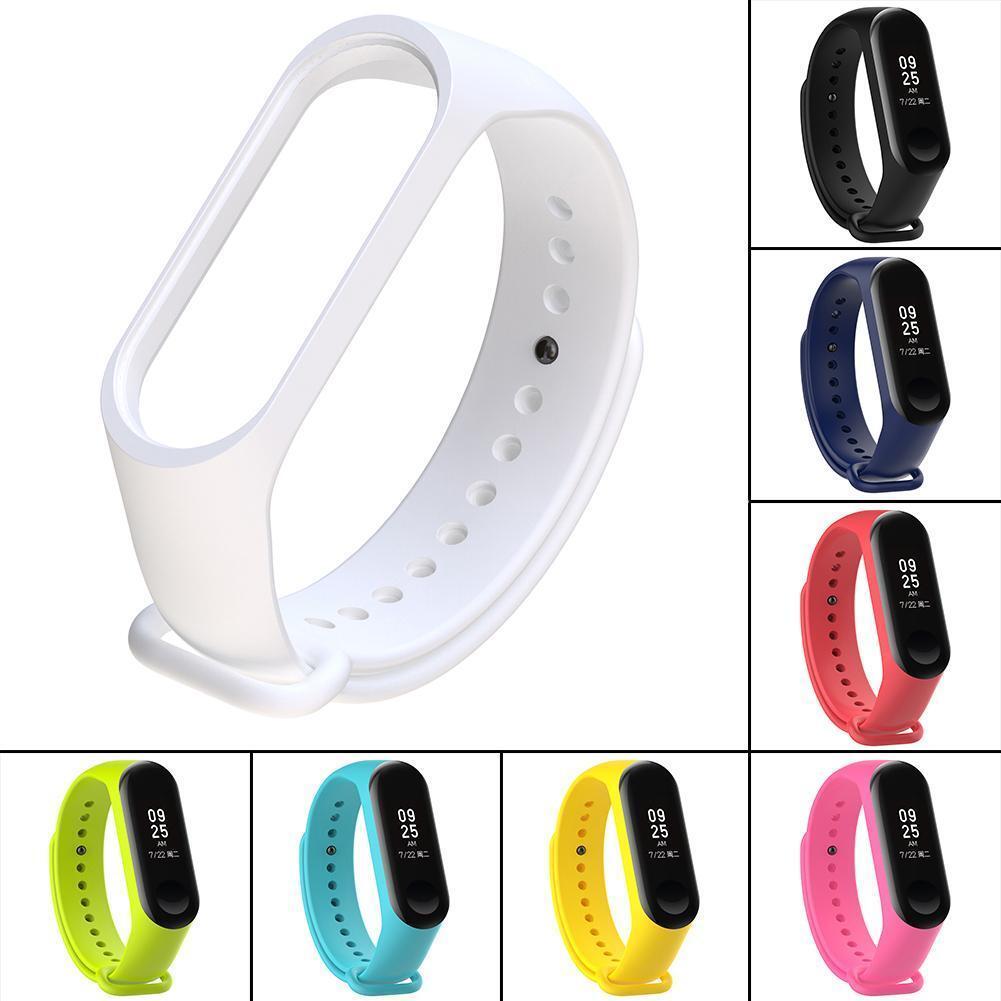 For XIAOMI MI Band 4 /MI Band 3 Silicon Wrist Strap WristBand Bracelet FR RR 8