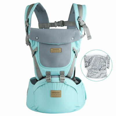 Ergonomic Infant Baby Carrier With Hip Seat Stool Adjustable Wrap Sling Backpack 5